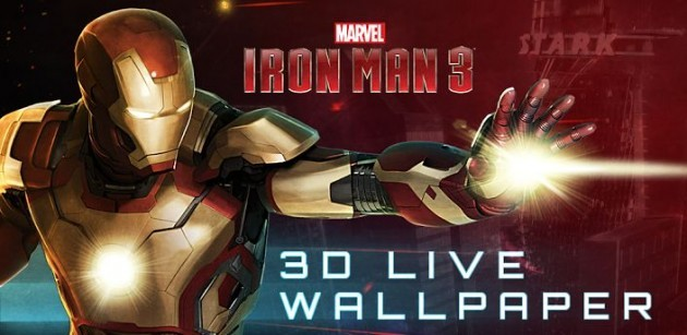 Iron Man 3: disponibile il live wallpaper ufficiale per Android