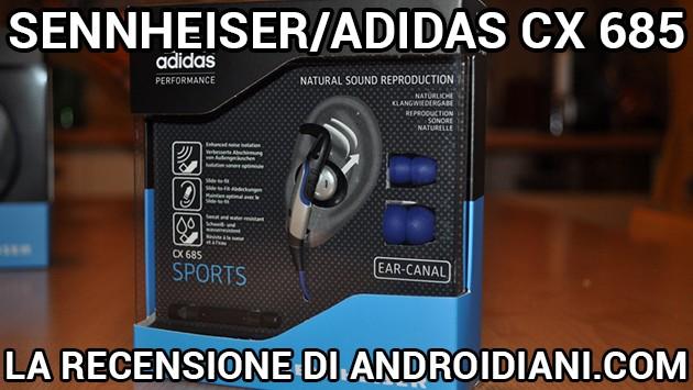 Auricolari sportivi Sennheiser/Adidas CX 685: la recensione di Androidiani.com