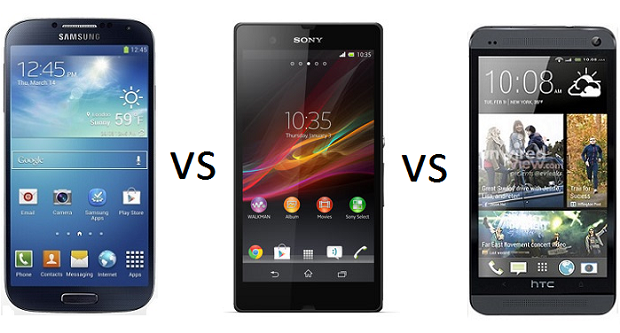 Sony Xperia Z vs HTC One vs Samsung Galaxy S IV: confronto fotografico