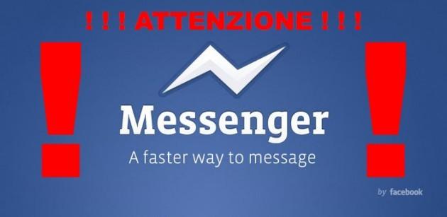 [ATTENZIONE] Facebook Messenger e il rapporto di consegna per gli SMS