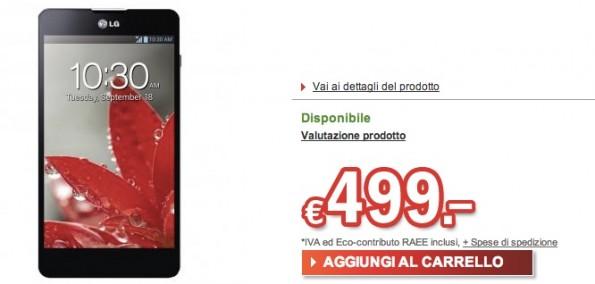 LG Optimus G disponibile a 499€ su Redcoon.it