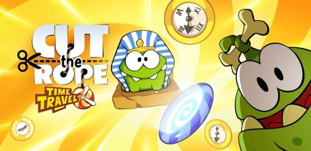 Cut The Rope: Time Travel è ora disponibile nel Play Store