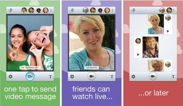 Glide - Video Walkie Talkie: chattate con i vostri amici attraverso brevi video messaggi