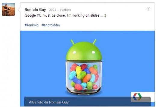 Nuove conferme sul rilascio di Android 4.3 al Google I/O
