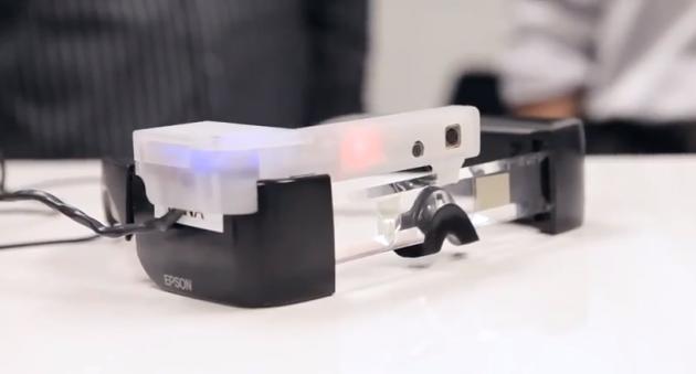 Epson Moverio: realtà aumentata grazie ad APX Labs