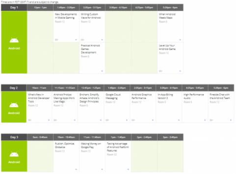 Disponibile il calendario degli eventi del Google I/O