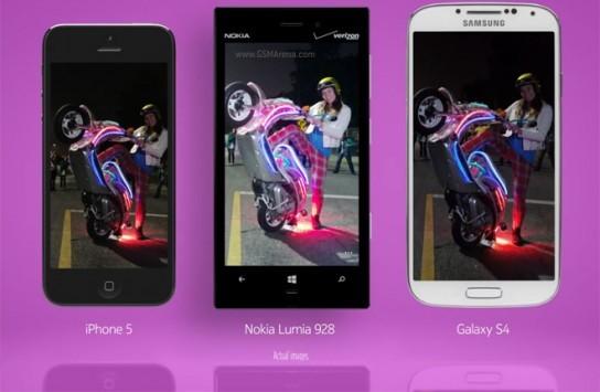 Nokia Lumia 928 meglio di iPhone e Galaxy negli scatti con luce scarsa