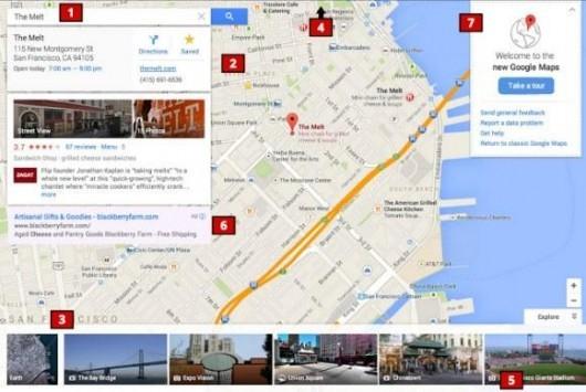 Google Maps: in arrivo un aggiornamento con una nuova interfaccia utente?