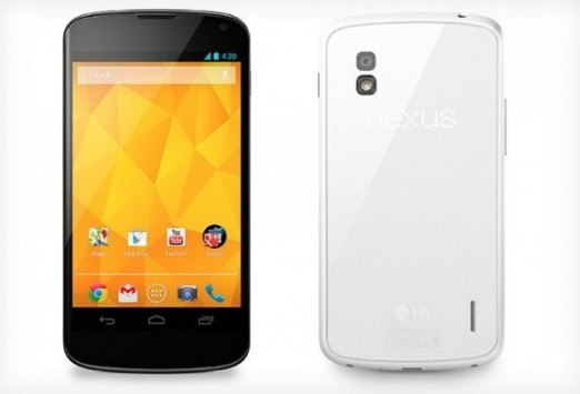 LG conferma che Nexus 4 White arriverà in Italia dal prossimo Luglio
