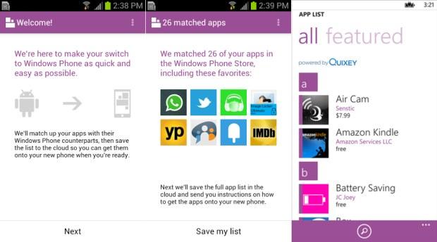 Microsoft rilascia sul Play Store l'app Switch to Windows Phone ed è subito criticata dagli utenti