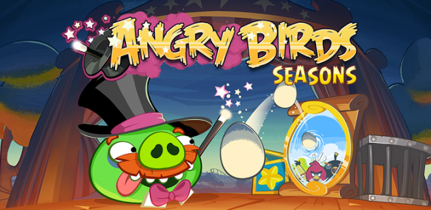 Angry Birds Seasons si aggiorna con il nuovo episodio Abra-Ca-Bacon