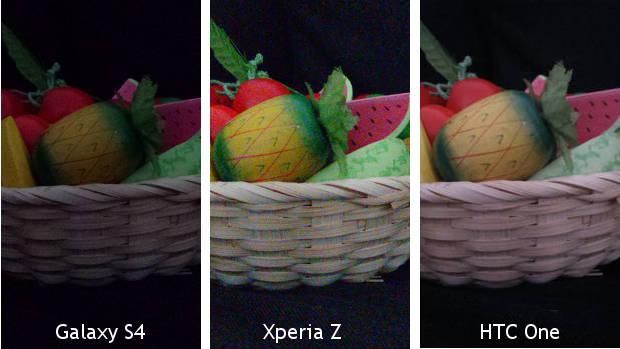 Samsung Galaxy S IV vs HTC One vs Sony Xperia Z  nuovo confronto    Xperia Z Vs Galaxy S4 Camera
