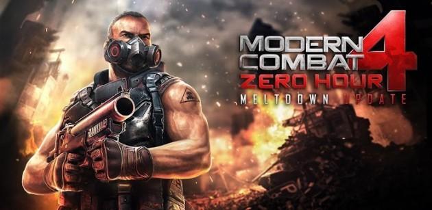 Modern Combat 4 Zero Hour: disponibile sul Play Store l'aggiornamento Meltdown