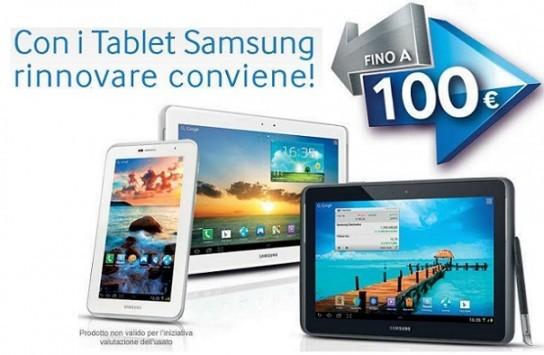 Promozione Samsung: fino a 100 euro di sconto per chi acquista un tablet
