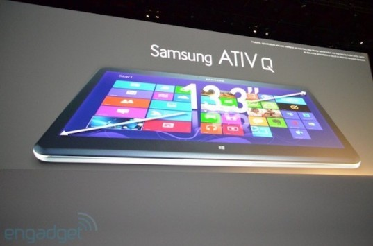 Samsung annuncia ATIV Q: tablet ibrido Android-Windows 8 [UPDATE: Primo hands-on]