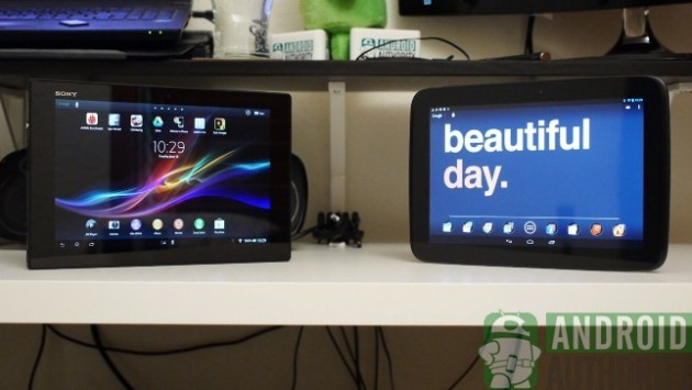 Sony Xperia Tablet Z vs Google Nexus 10: ecco un nuovo video confronto