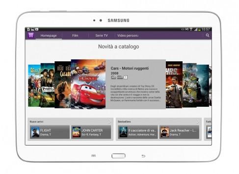 Samsung annuncia l'arrivo dei Galaxy Tab 3 in Italia