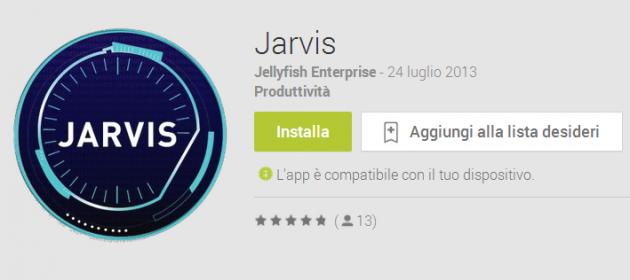 Jarvis, un nuovo assistente personale italiano disponibile su Play Store