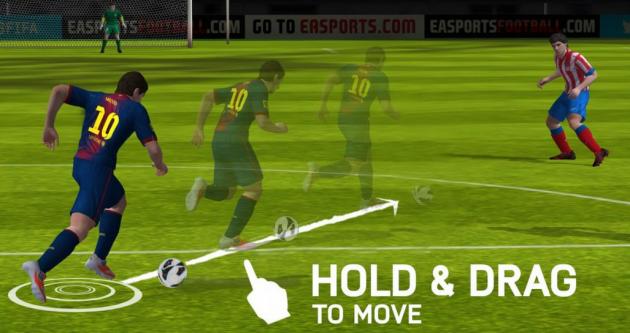 FIFA 14, nuove immagini e hands-on per la versione mobile