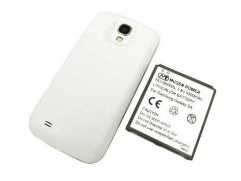 Samsung Galaxy S4: Mugen Power presenta una batteria da 5'500 mAh