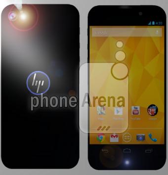 HP: trapelato il render di un nuovo smartphone Android