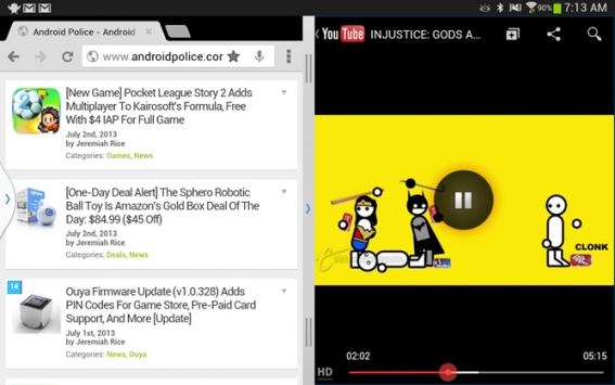 Youtube per Android presto supporterà un'interfaccia multitasking (e forse l'audio in background)