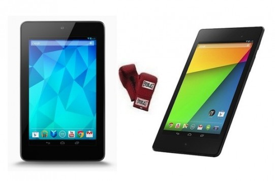 Nuovo contro vecchio: confronto prestazionale tra i due Nexus 7