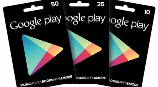Google Play Gift Card: arrivato il supporto anche in Italia