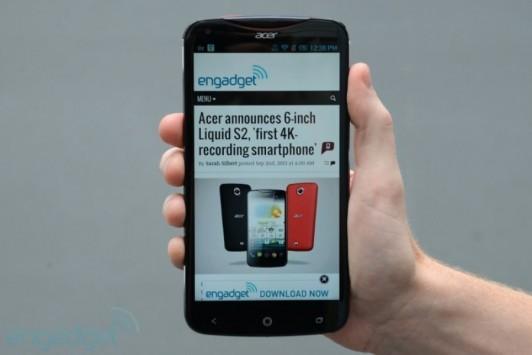Acer Liquid S2: ecco le prime fotografie del nuovo top-gamma Acer