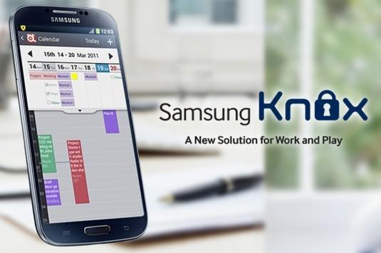 Samsung presenta KNOX, una soluzione mobile per casa e lavoro
