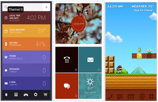 MyColorScreen Themer, applicare temi completi alla homescreen con un semplice tap