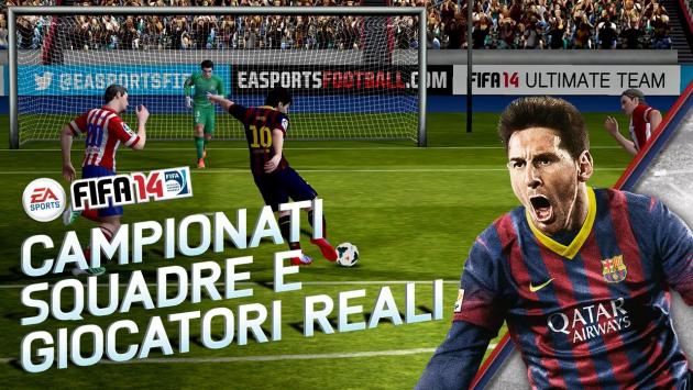 FIFA 14 disponibile ufficialmente sul Google Play Store (ancora non in Italia)