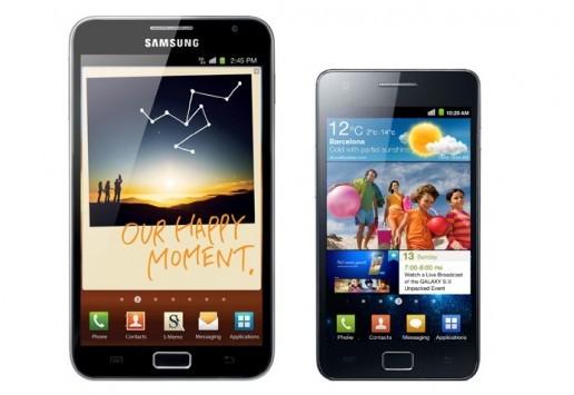 Samsung Galaxy S II e Galaxy Note non saranno più supportati dal produttore coreano