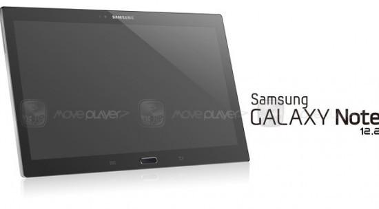 Samsung darà il via alla produzione del galaxy Note 12.2 entro la fine del 2013