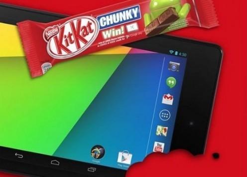Nexus 7 2013: Nestlè mette in palio il tablet in un particolare concorso
