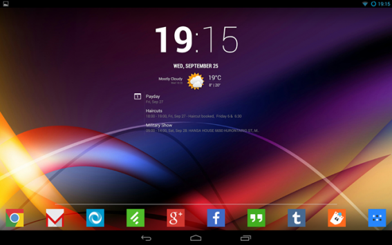 Chronus, il clock widget di CyanogenMod, sbarca sul Play Store