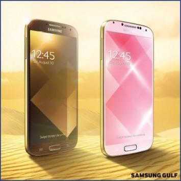 Samsung sta per lanciare una versione gold del suo Galaxy S4