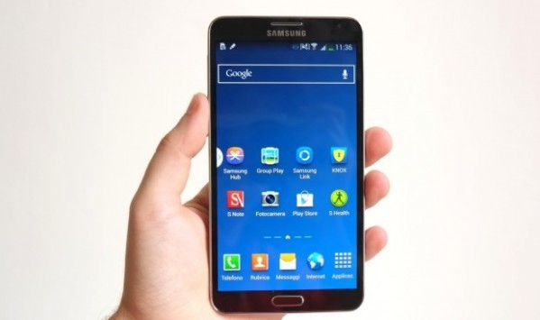 Samsung Galaxy Note III brand H3G: iniziato il roll-out di Android 4.4.2