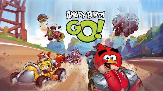 Angry Birds Go! Ecco il trailer del nuovo racing game targato Rovio