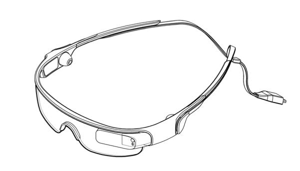 Samsung: un brevetto mostra un device simile ai Google Glass