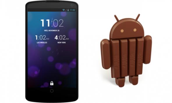 Nexus 5 e Android 4.4 KitKat: presentazione il 15 Ottobre?