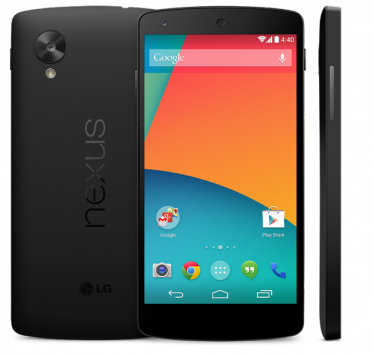 Nexus 5 compare su Google Play Devices per alcuni minuti a 349$