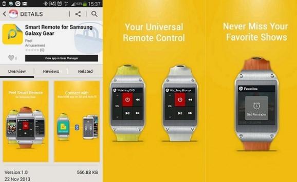 Samsung Smart Remote: ecco l'app che trasforma il Galaxy Gear in un telecomando per TV