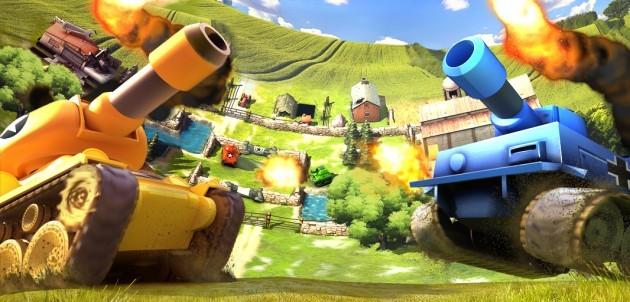 Gameloft rilascia Tank Battles per Android: personalizza il tuo carro armato e distruggi i nemici