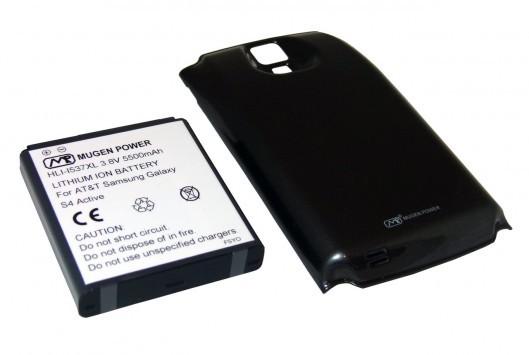 Mugen presenta una batteria da 5500mAh per Galaxy S4 Active