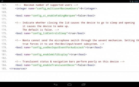 Nexus 10: l'update ad Android 4.4 potrebbe portare novità nella barre di stato