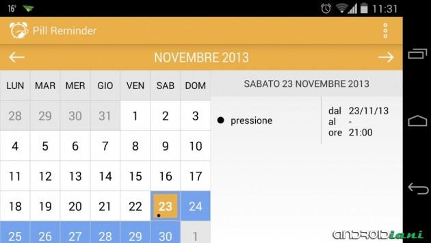 Pill Reminder: da uno sviluppatore italiano un'app che ci ricorda di prendere le nostre medicine
