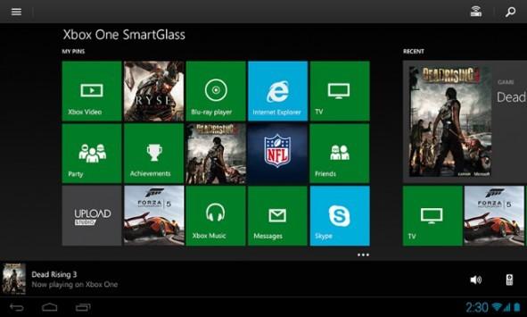 Smartglass, disponibile la versione destinata  alla nuova Xbox One