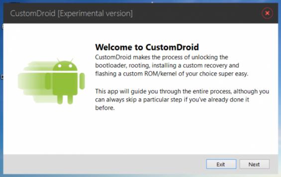 CustomDroid: ecco un tool per l'installazione di qualsiasi Custom ROM