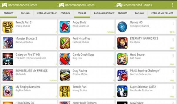Gaming su Android in netta crescita grazie al modello freemium